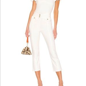 Tularosa Cropped Pants in Ivory